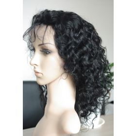 Wavy Full Lace Wig Color #1B