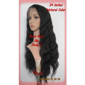 Brazilian Full Lace Wig Body Wavy  24 inch