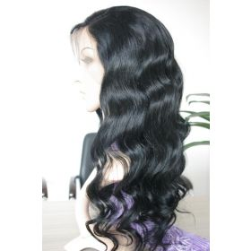 Color #1 Brazilian Lace Front Wig