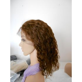 Wet n Wavy-Silky Top Full Lace Wig Color #4