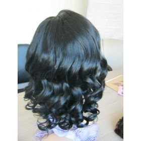 Wavy Brazilian Wig Color #1