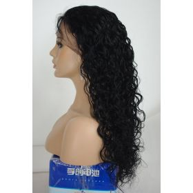 Wavy Malaysian Wig Color #1