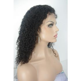 16 inches wet n wavy lace front wig