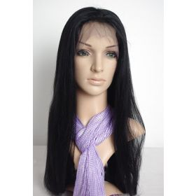 Straight Full Lace Indian Remy Color #1