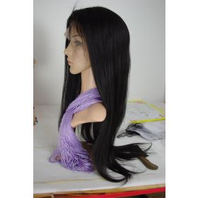 Straight European Full Lace Wig Color #1