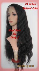 Brazilian Full Lace Wig Body Wavy  24 inch