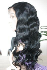 Color #1 Brazilian Lace Front Wig