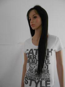 "Brazilian Silky Straight Natural Color 22"""