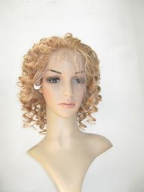 Honey Blonde Color #27 Full Lace