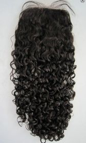 Curly Top Closure Silk Top Option
