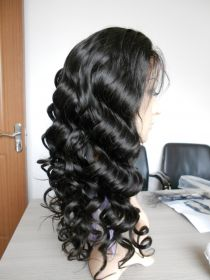 Full Lace Curly Color #1B