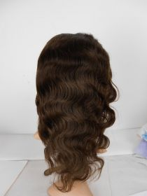 Indian Remy Body Wave Full Lace Wig Color #2