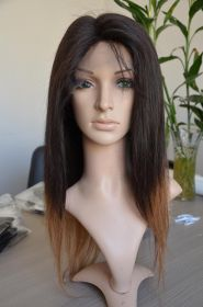 Custom Malaysian Virgin Straight Hair 18""