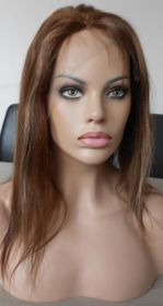 Brazilian Straight Hair Color #3 with Hightlights