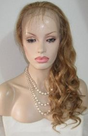 Honey Blonde Full Lace Wig #27A