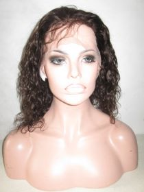 Curly Lace Front Wig Color #12