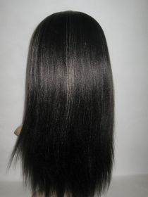 Lace Front Wig Straight Add Bang